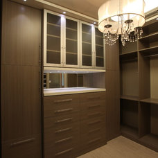 Contemporary Closet by Ultimate Storage Systems