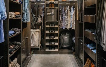 Хороший вопрос: Когда лучше иметь шкаф, а когда — гардеробную?