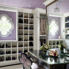 contemporary closet by Liz Caan Interiors LLC