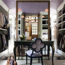 Contemporary Closet by Liz Caan Interiors LLC