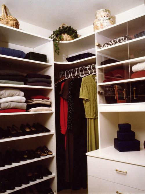 Corner Closet Houzz