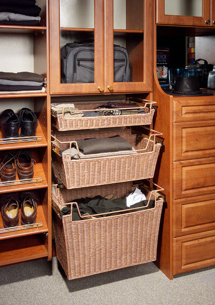 Contemporary Closet by Tailored Living featuring PremierGarage