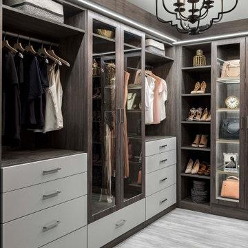 Contemporary Dream Closets