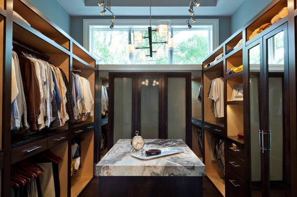 Contemporary Closet by Weber Design Group, Inc.