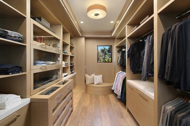Contemporary Closet by TRG Architecture + Interior Design