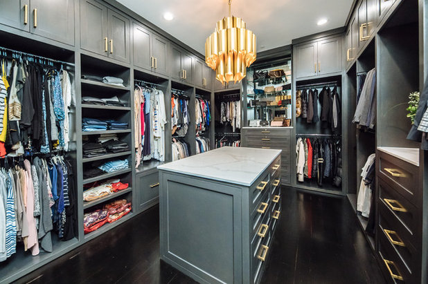 Transitional Closet by Kathleen Jacobson, The Couture Closet