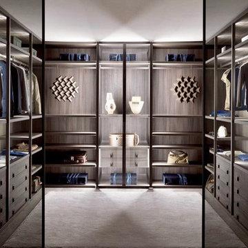 Contemporary  Wardrobes & Walk In Closets