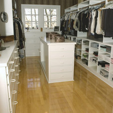 Traditional Closet by Case Design & Remodeling Indy