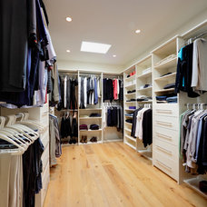 Contemporary Closet by By Design
