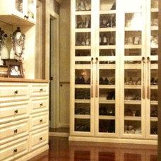 Traditional Closet by TheWardrobeConcierge