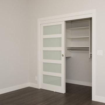 Costa Mesa Interior Remodel & Renovation - Bedroom Sliding Closet Doors
