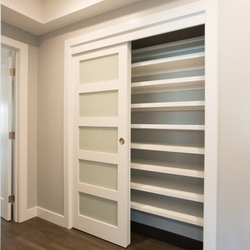 Costa Mesa Interior Remodel & Renovation - Hall Closet