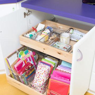 Craft Room Storage & Organization