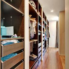 Modern Closet by Spore Design