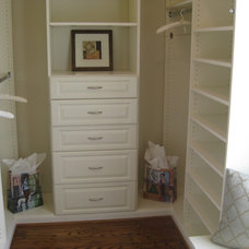 Traditional Closet by Leigh Newport Staged by Design®