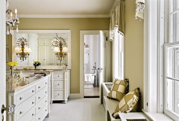 Traditional Closet by Crisp Architects
