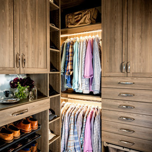 Crisp, Clean Closet and Master Vanity