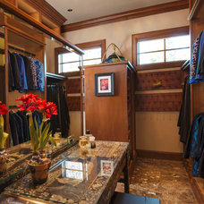 Traditional Closet by Scott Gilbride/Architect Inc.