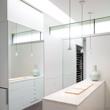 Contemporary Closet by Hufft Projects