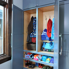 Traditional Closet by The Howland Group