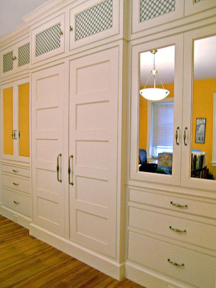Traditional Closet by Savena Doychinov, CKD/Design Studio International