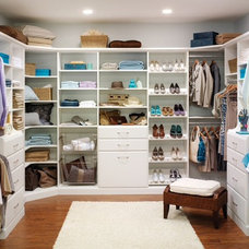 Traditional Closet by Victory Custom Products