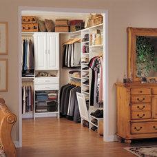 Traditional Closet by Custom Closet & Garage, Terry Hill