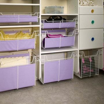 Custom Closet Designs for Kids
