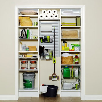 Custom Closet for Cleaning Supplies