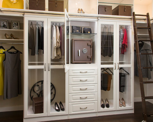 Custom Closet With Jewelry Safe