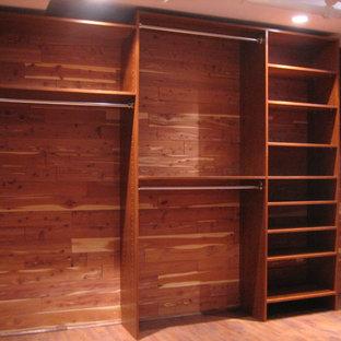 Custom Closet in basement