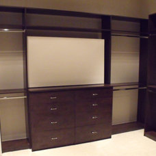 Contemporary Closet by Custom Closets & More...