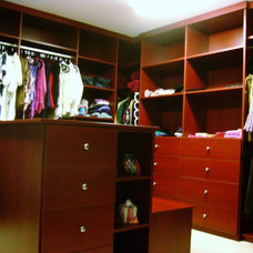 Traditional Closet by Shelley Bright Design Services