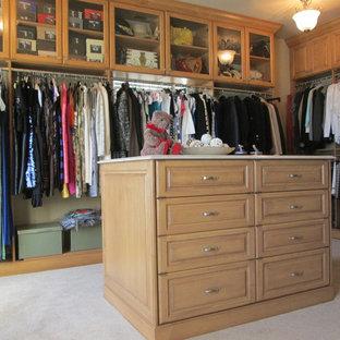 Imagen de armario y vestidor ecléctico extra grande