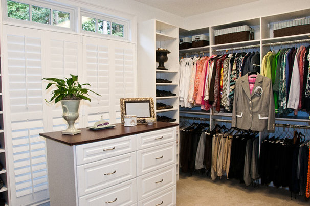 Traditional Closet by Louisiana Custom Closets
