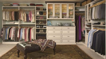 Custom closets, pantry, office, garage cabinets
