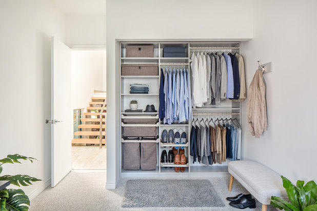 Modern Wardrobe by Tailored Living of Mercer, Monmouth, Middlesex