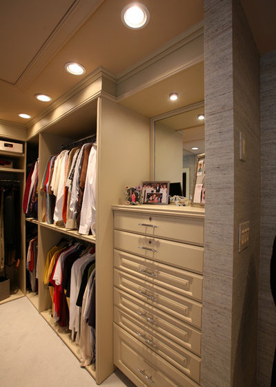 Contemporary Closet by Colmar Kitchen Studio