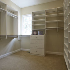 Traditional Closet by Lankford Decorating & Construction, Inc.