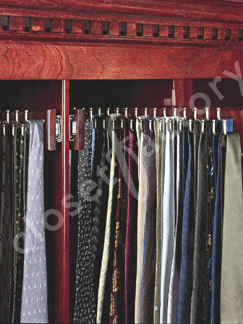 Custom Wood Tie Racks Houzz