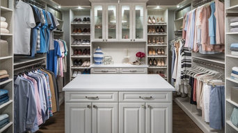 Custom Designs Featuring Inspired Closets