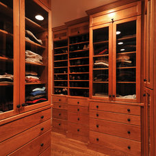 Traditional Closet by Cobb Hill Construction