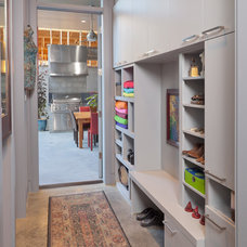 Mediterranean Closet by Allan Edwards Builder Inc