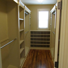 Traditional Closet by Jimmy Bryan Construction