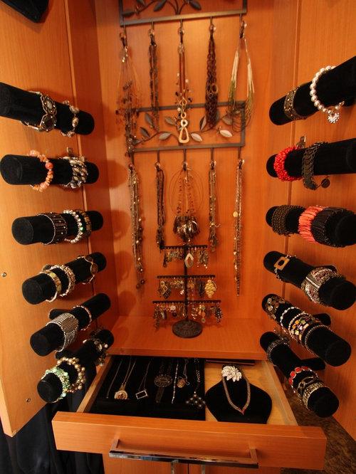 Bangle Bracelet Storage Houzz - Bangle bracelet storage ideas