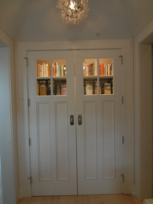Double Pantry Doors Design Ideas Remodel Pictures Houzz