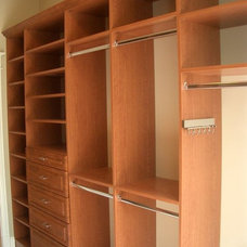 Traditional Closet by Perfection Custom Closets