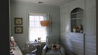 Custom Painted Master Closet