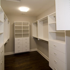 Traditional Closet by Robertson Brothers