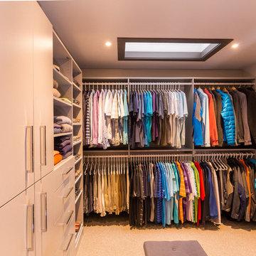 Custom Walk-in Closet and Dressing Room